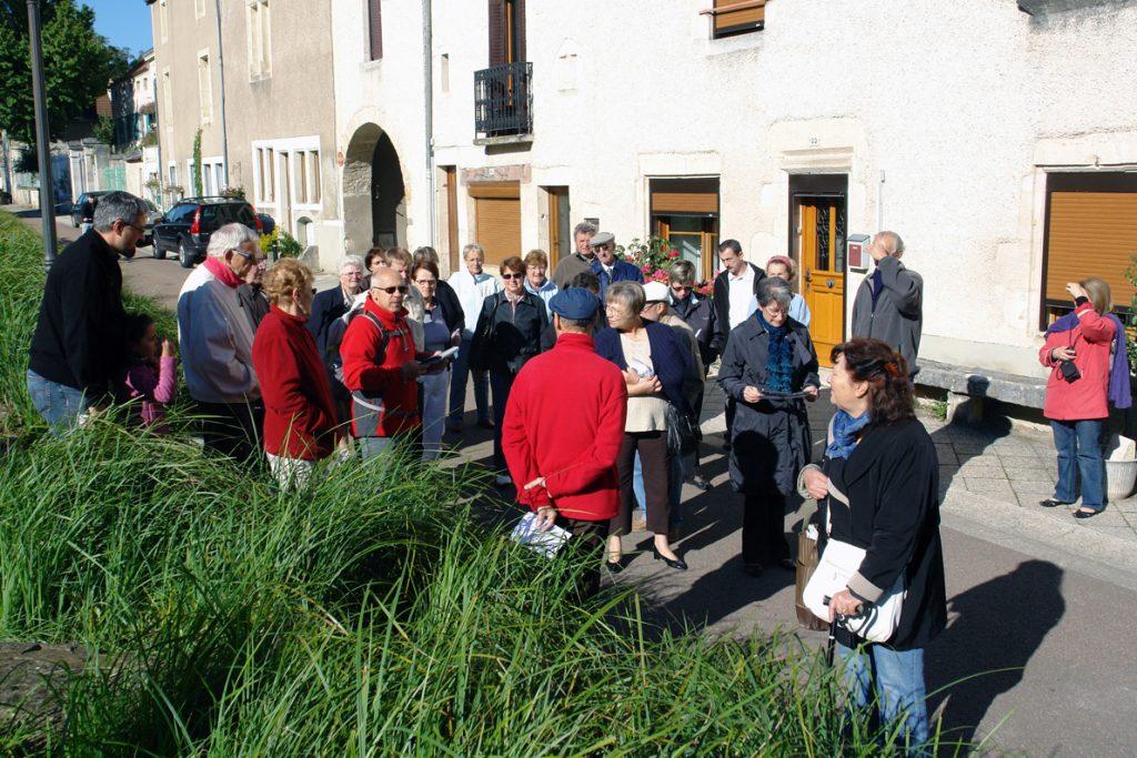 Visite commentée d'Is-sur-Tille, avec René Perrat