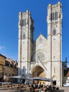 La cathédrale Saint-Vincent à Chalon-sur-Saône